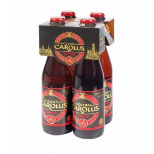 Gouden Carolus Ambrio Beer kosher (case of 6 bottles)